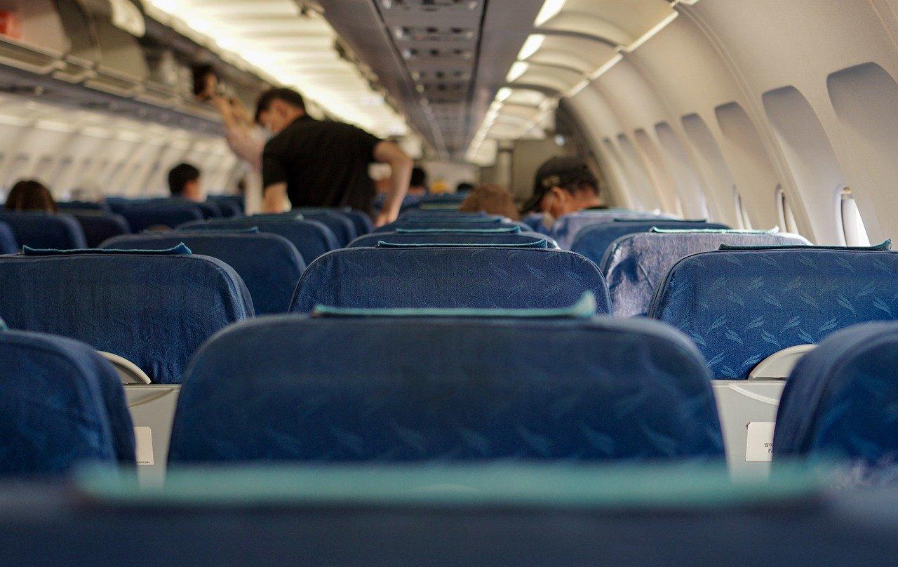 Morire a bordo di un aereo