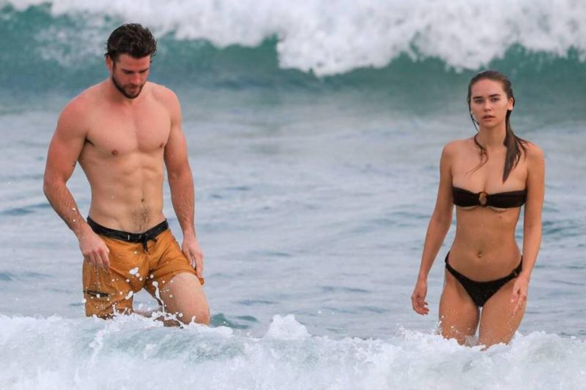 LIamo Hemsworth e la fidanzata
