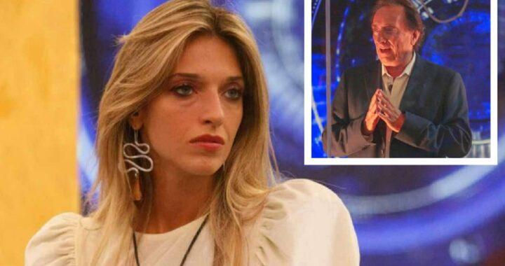 GF Vip Amedeo Goria parla di sua figlia Guenda