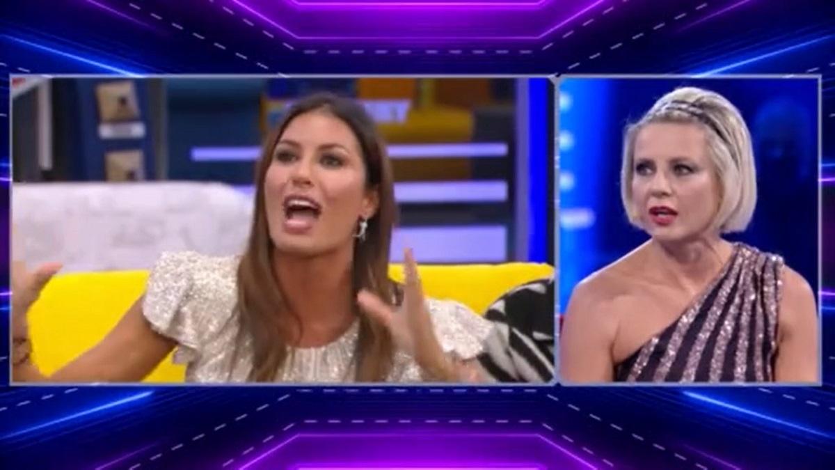 GF Vip Antonella Elia attacca Elisabetta Gregoraci