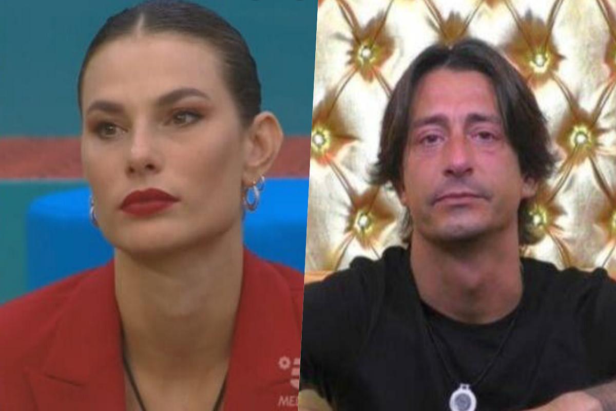 GF Vip Dayane confessa a Zorzi di Francesco