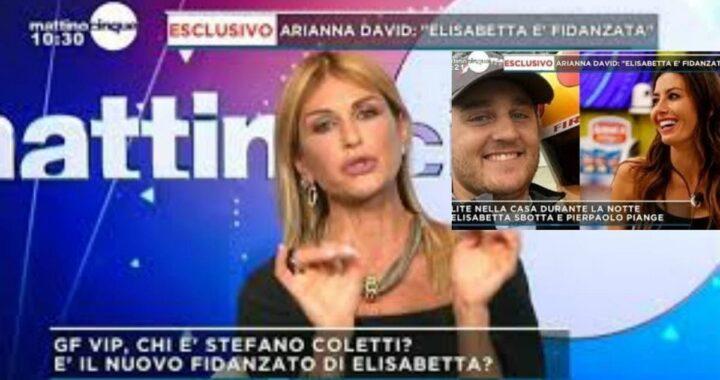 "GF Vip Adriana David: ""Elisabetta è fidanzata"""