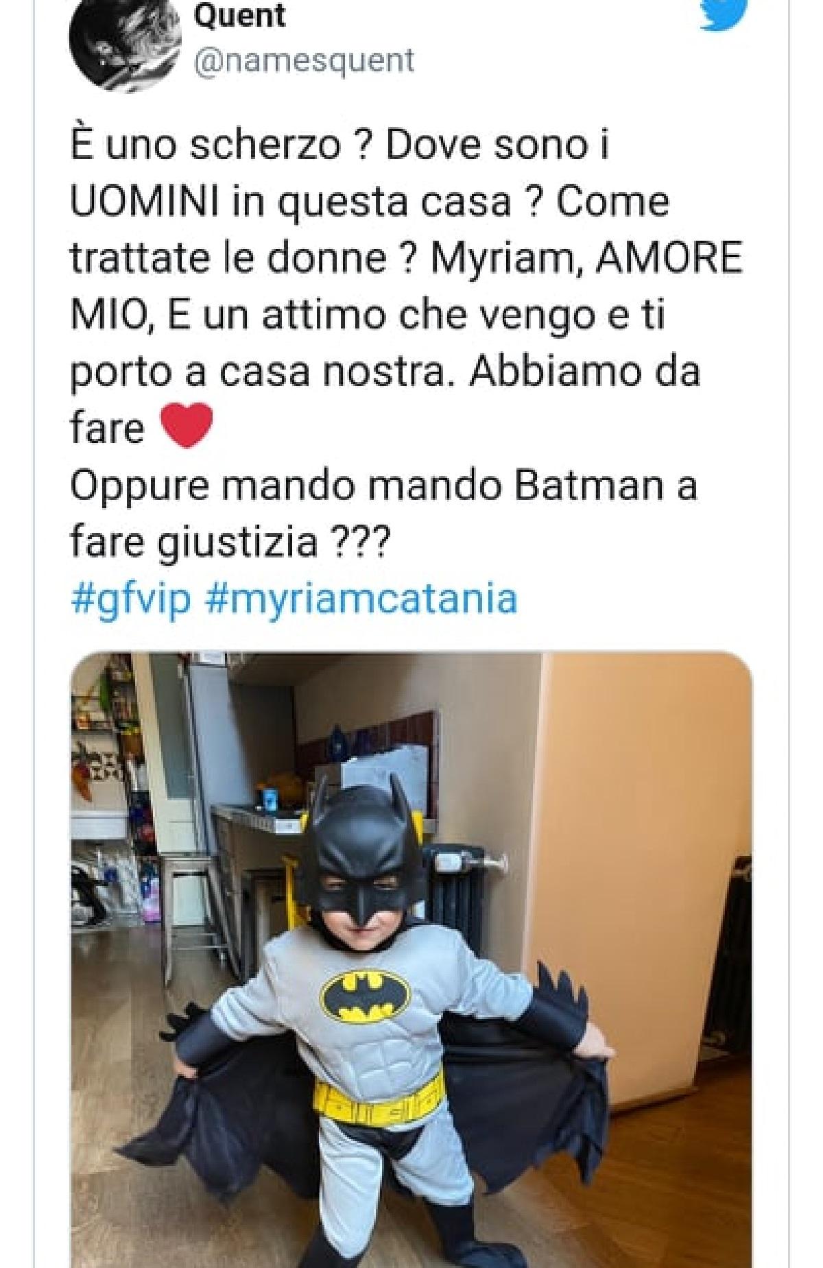 GF Vip proposta di matromonio per Miryam Catania