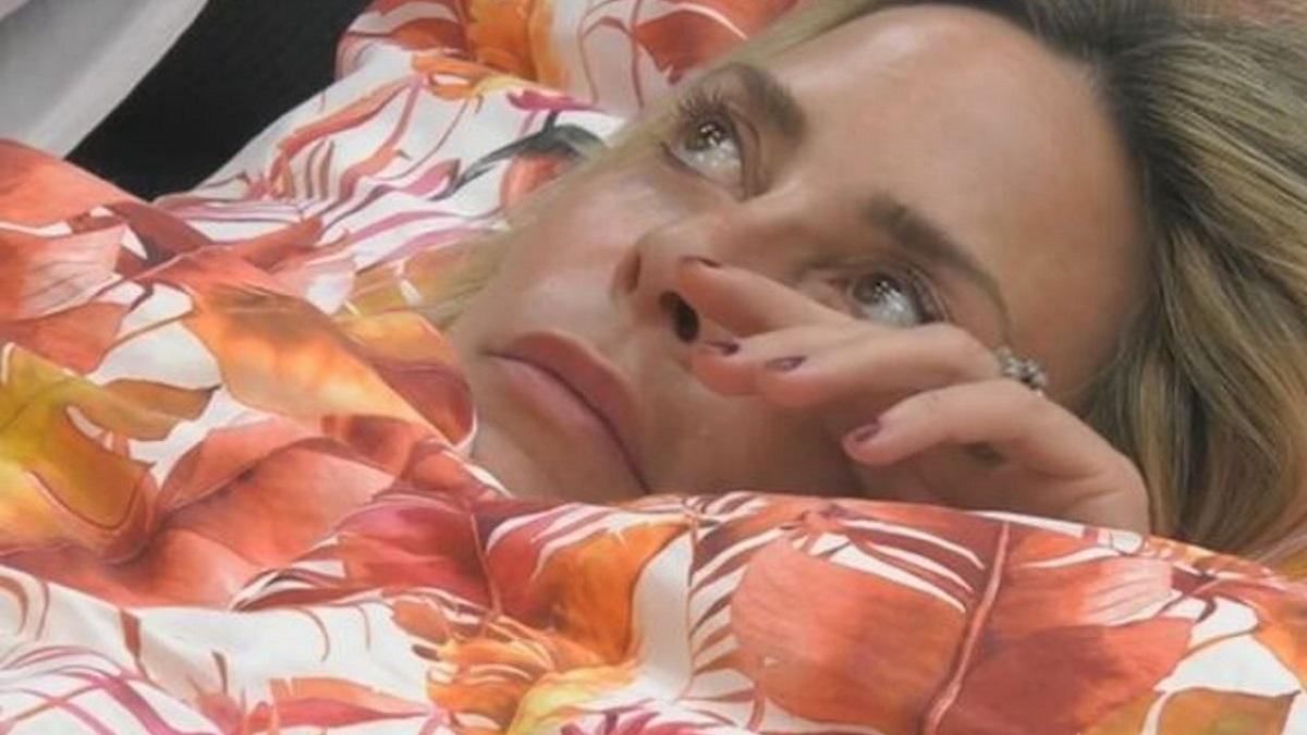 GF Vip Steania Orlando piange per Tommaso Zorzi