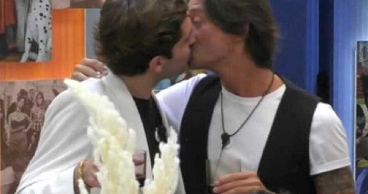 GF Vip Il bacio tra Zorzi e Oppini