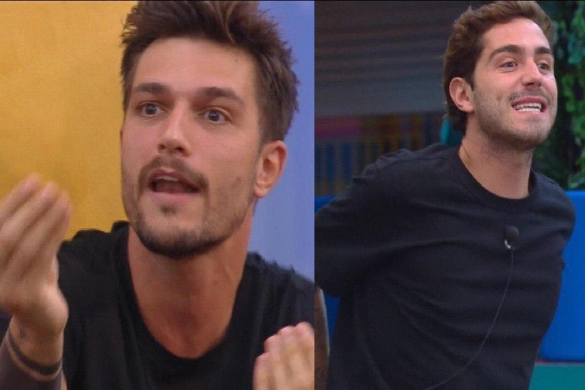 GF Vip Tommaso contro Matilde Andrea e Enock