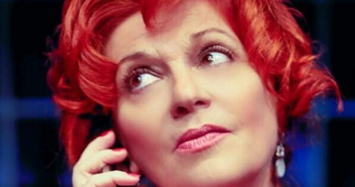 Giorgia Trasselli primo piano capelli rossi