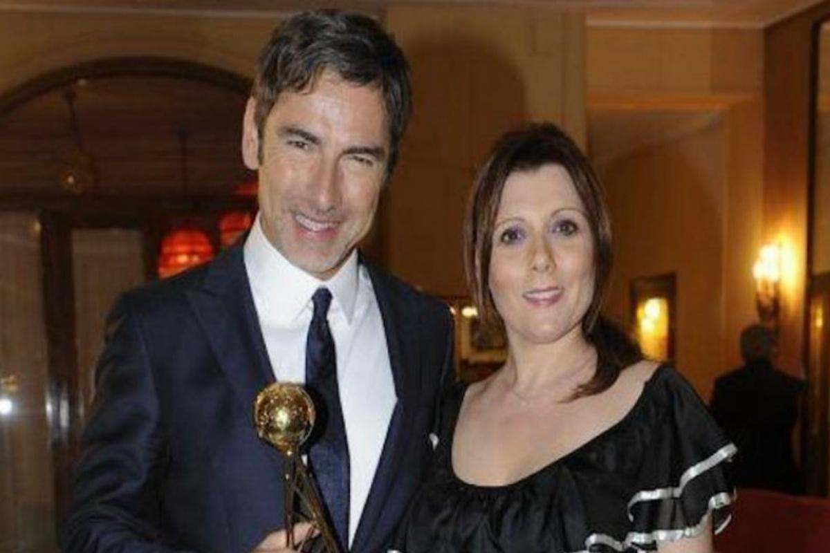 Marco Liorni e la moglie