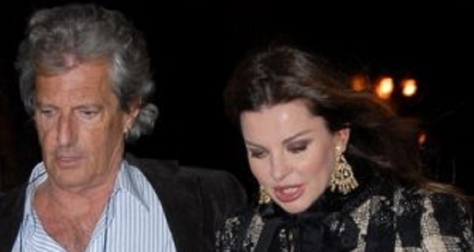 Alba Parietti e il suo ex