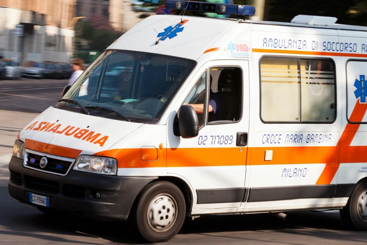 incidente mota visconti ferito bimbo