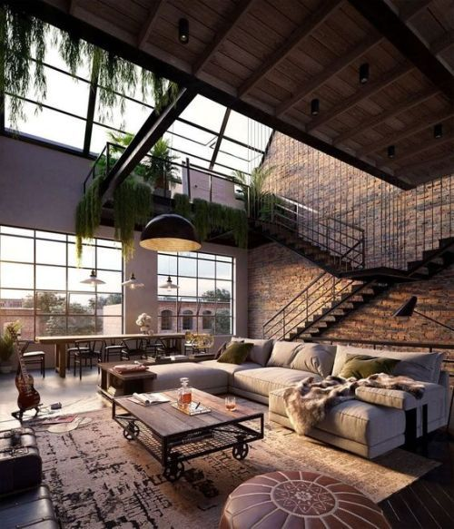 industrial chic loft
