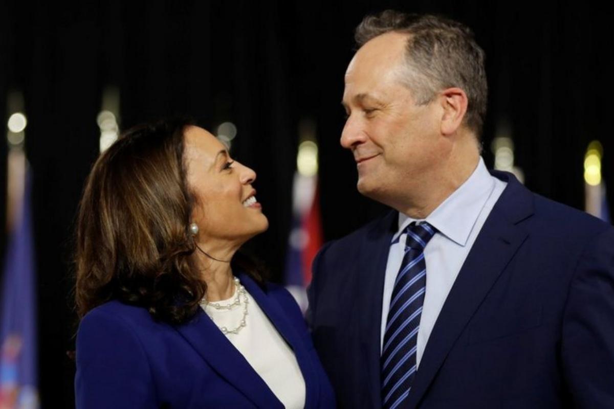 Kamala Harris e il marito