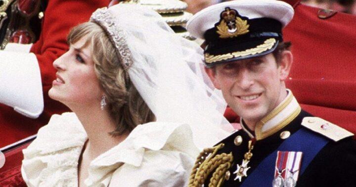 matrimonio tra Lady Diana e il Principe Carlo