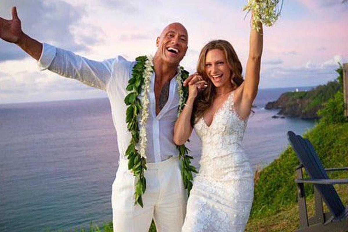 Matrimonio Dwayne Johnson