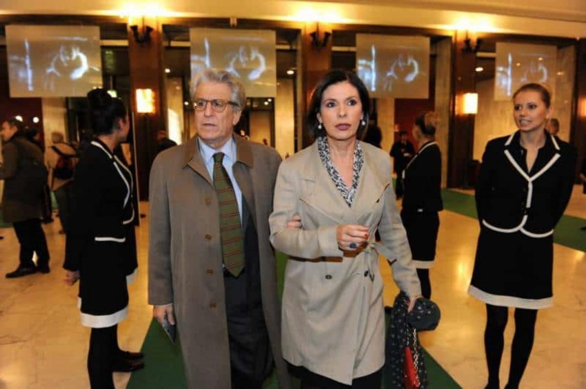 Bianca Berlinguer e il marito