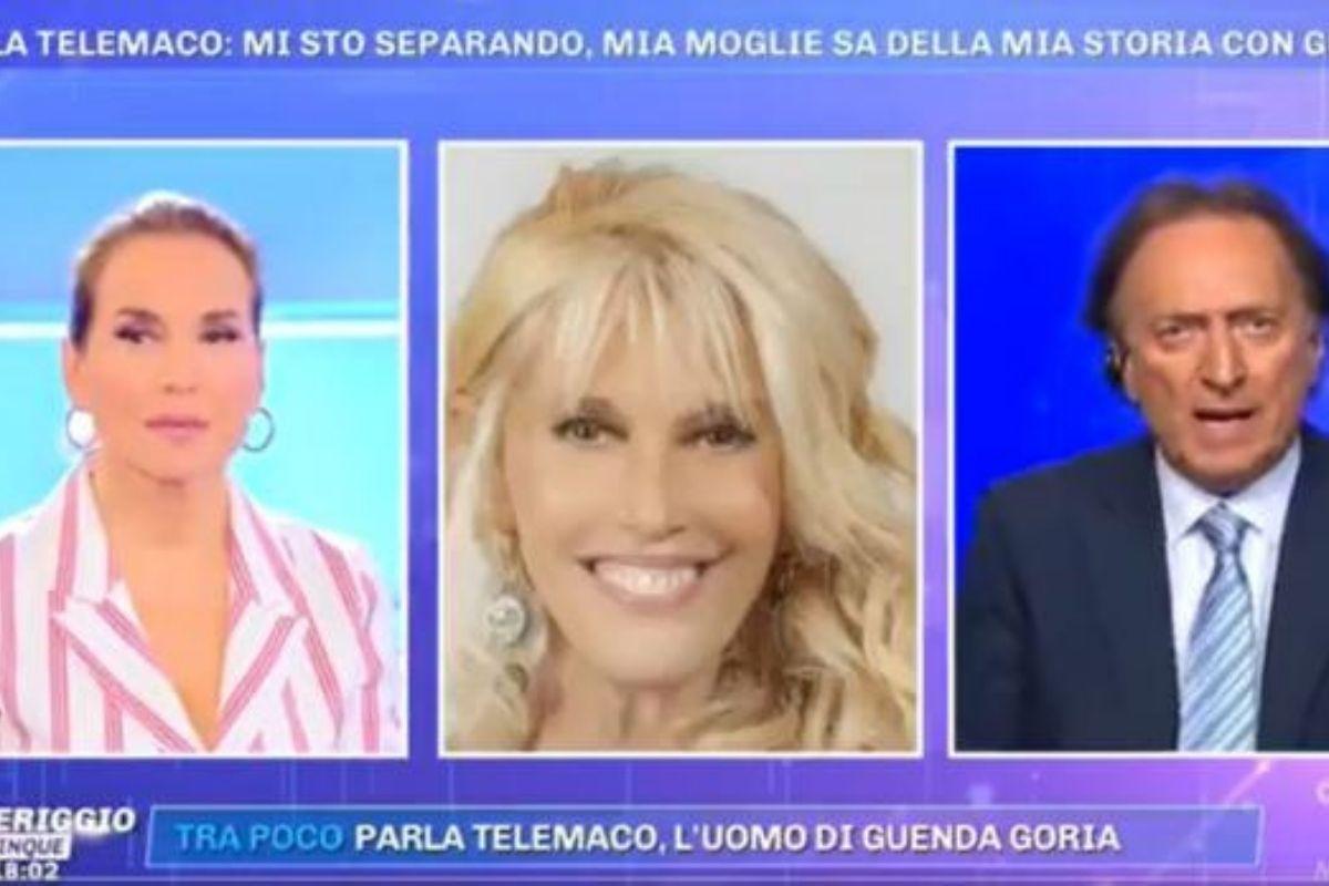 Maria Teresa Ruta flirt con Telemaco