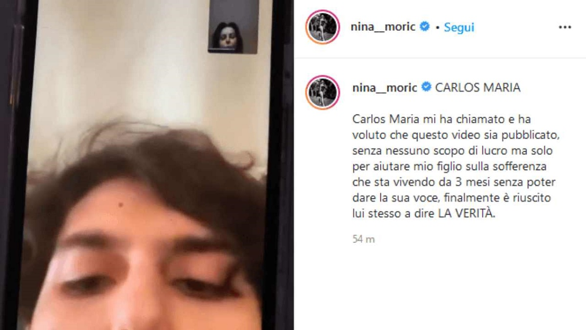 """Nina Moric: """"La nonna ha rovinato mio figlio"""""""