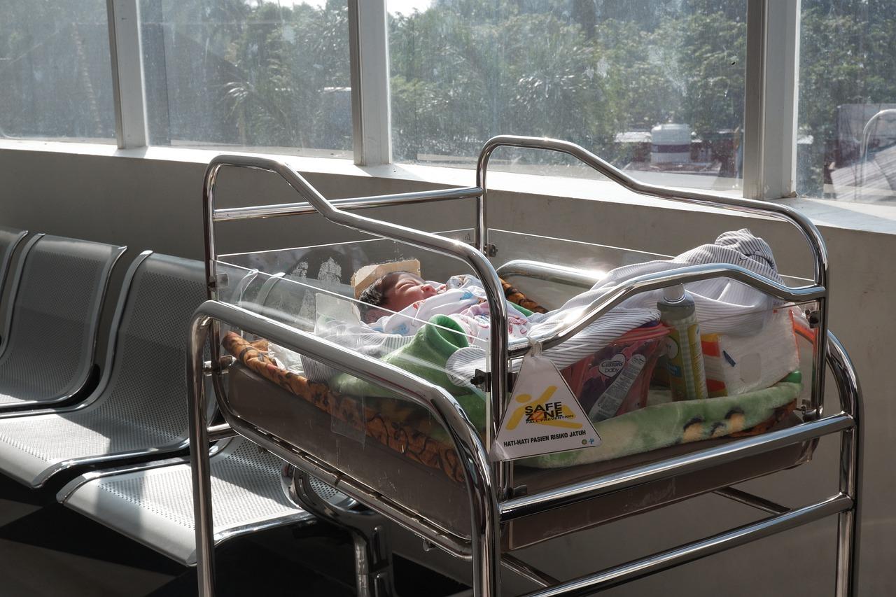 Bambina nata in ospedale