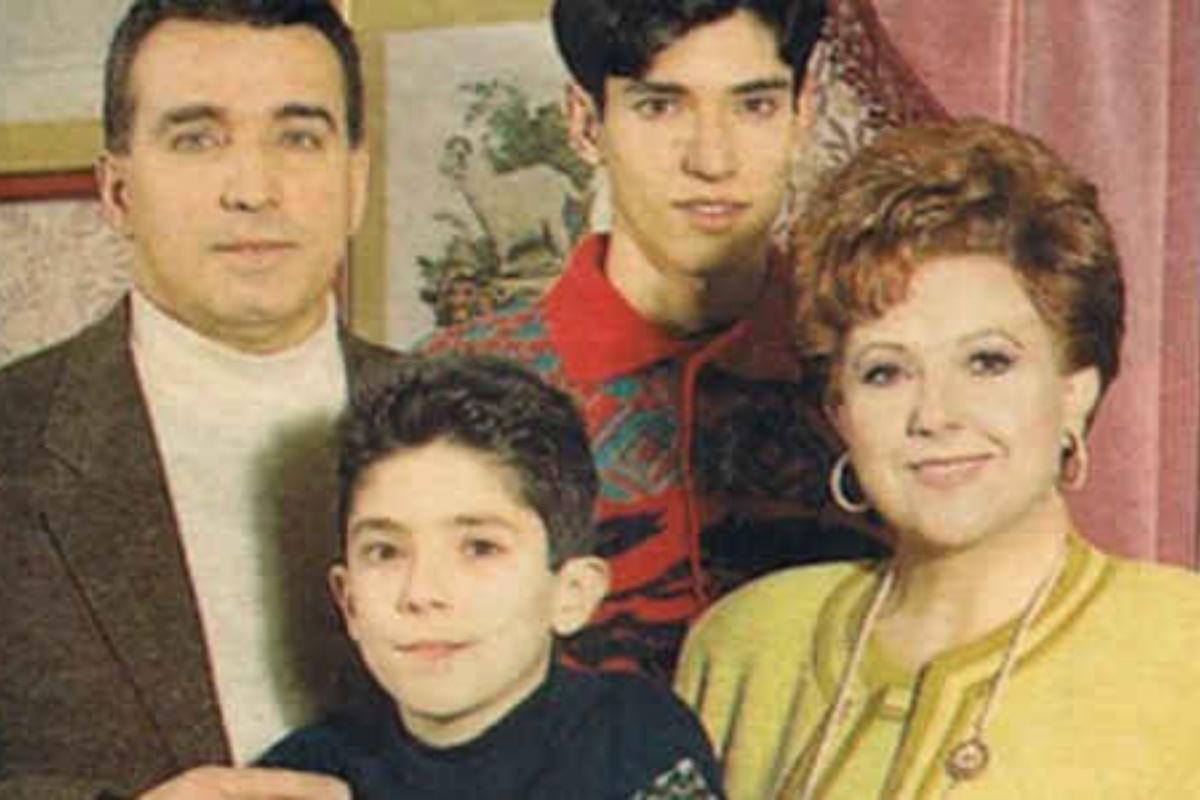 Orietta Berti e la sua famiglia