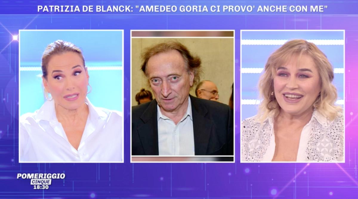 """Pomeriggio 5 Lory De Santo: """"Amedeo Goria ci ha provato"""""""