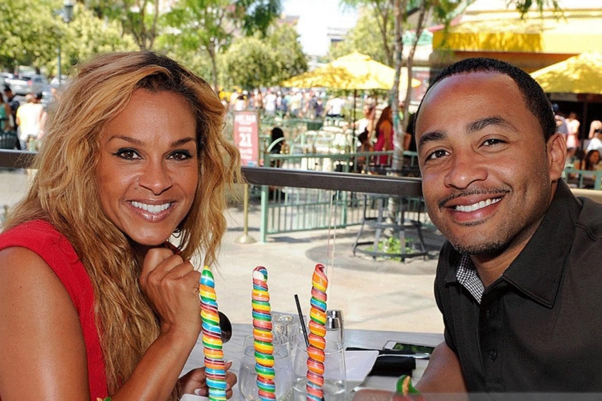 Sheree Smith e l'ex marito