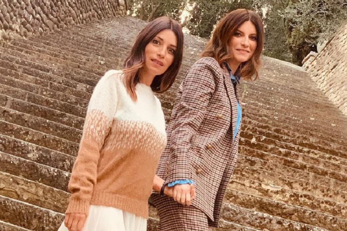 Laura Pausini e la sorella
