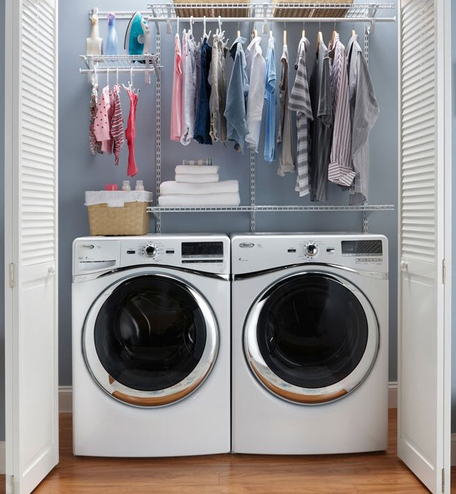 spazio lavanderia ripostiglio