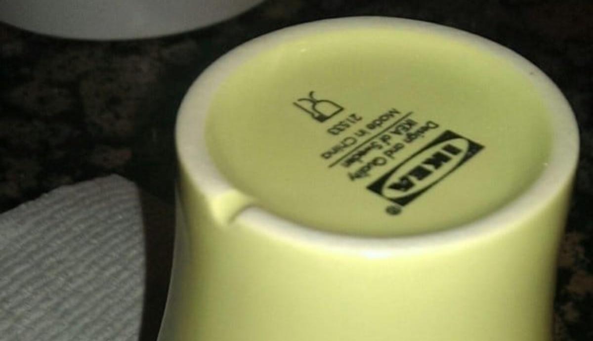 tacca sul fondo delle tazze: a cosa serve