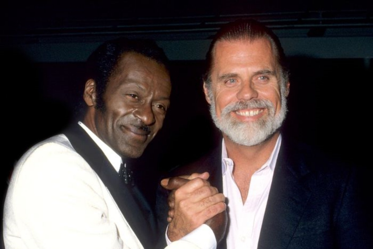 Chick Norris e Taylor Hackford