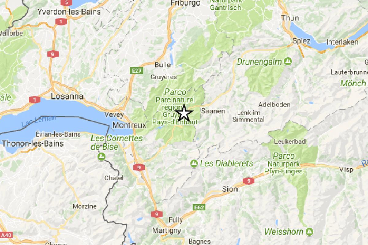 terremoto Glarus Sud