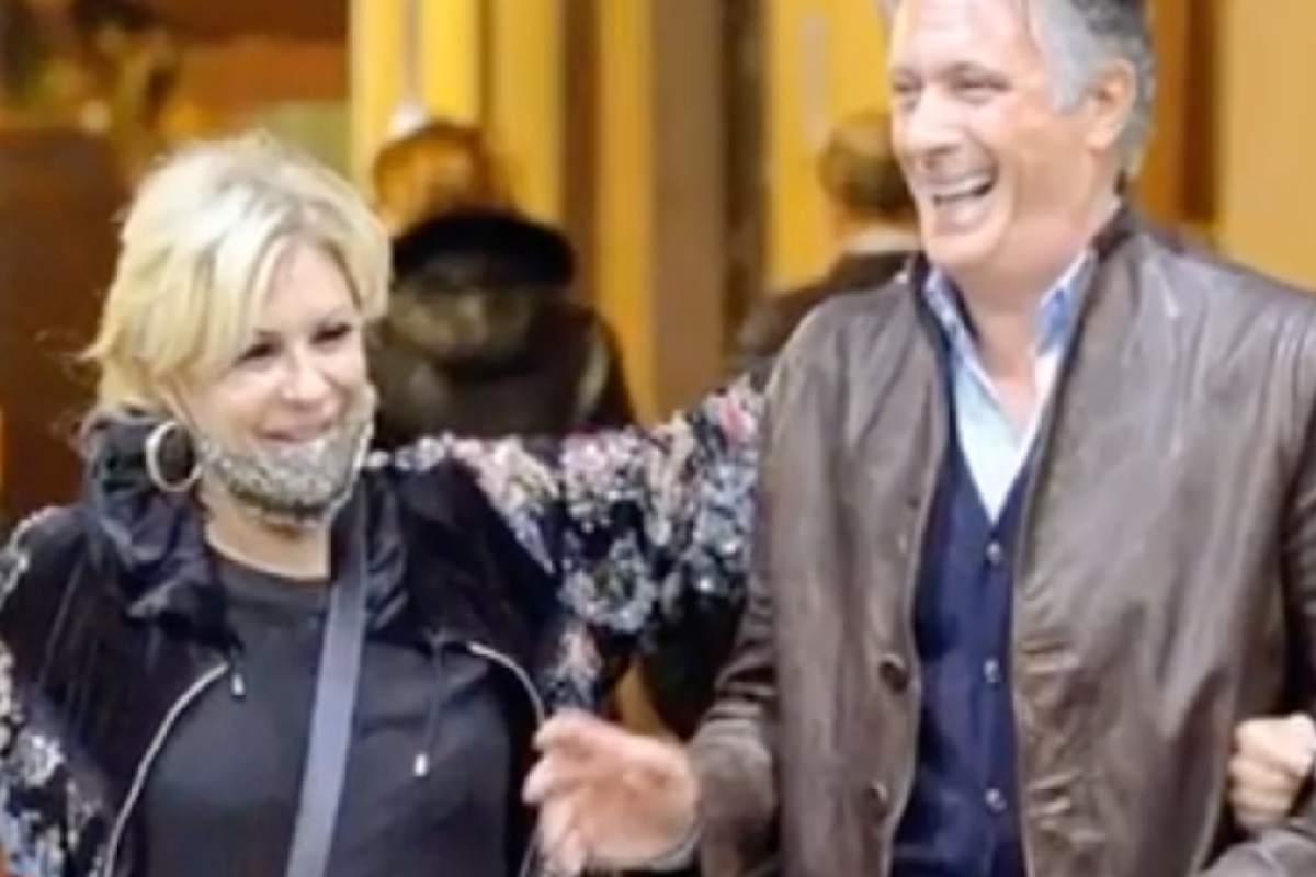 Tina Cipollari incontra Giorgio Manetti