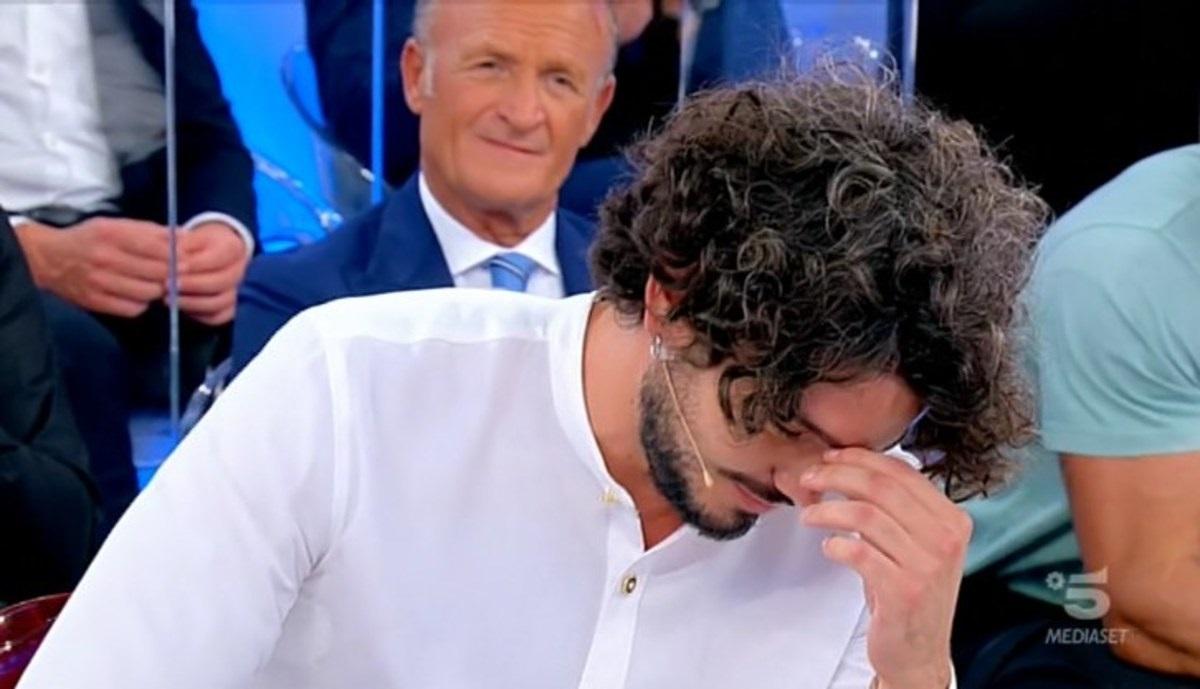 UeD Gianluca De Matteis in lacrime