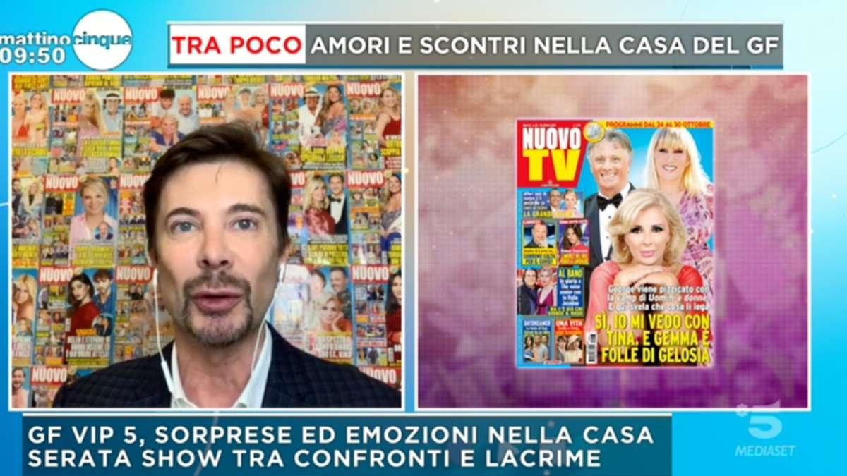 """UeD Giorgio e Tina: """"Gemma fuori dalla TV"""""""