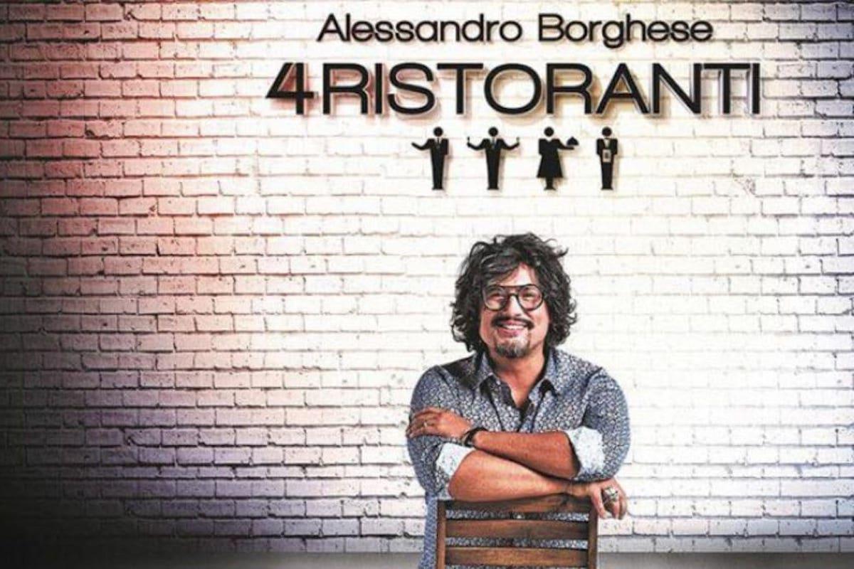 Locandina 4 Ristoranti Alessandro Borghese