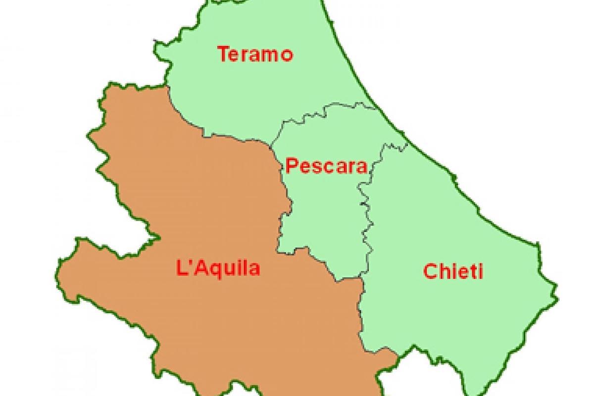 Abruzzo in cartina