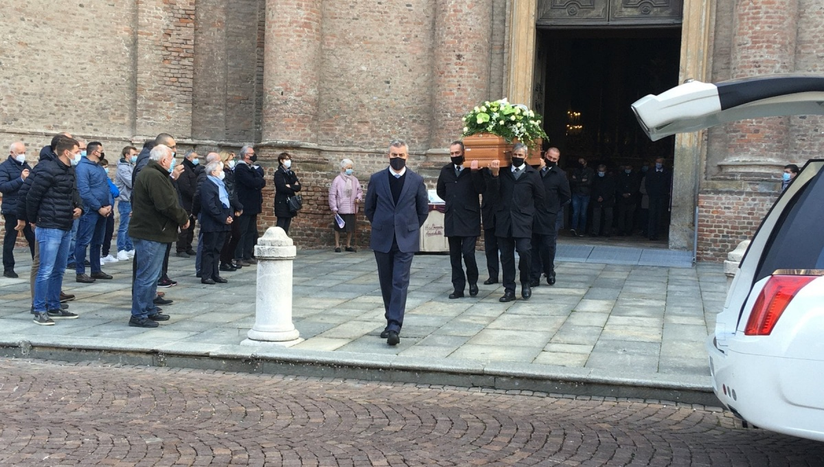 I funerali di Alberto Accastello