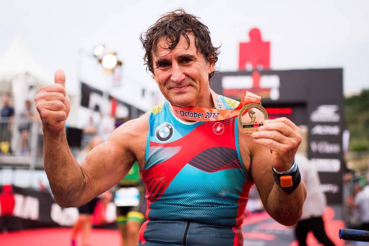 Alex Zanardi medagliato