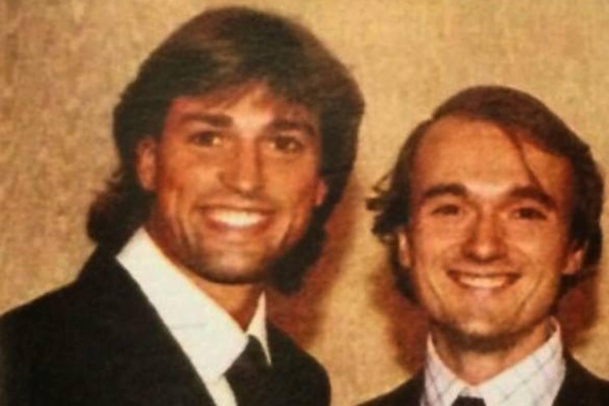 Stefano Bettarini e Alfonso Signorini