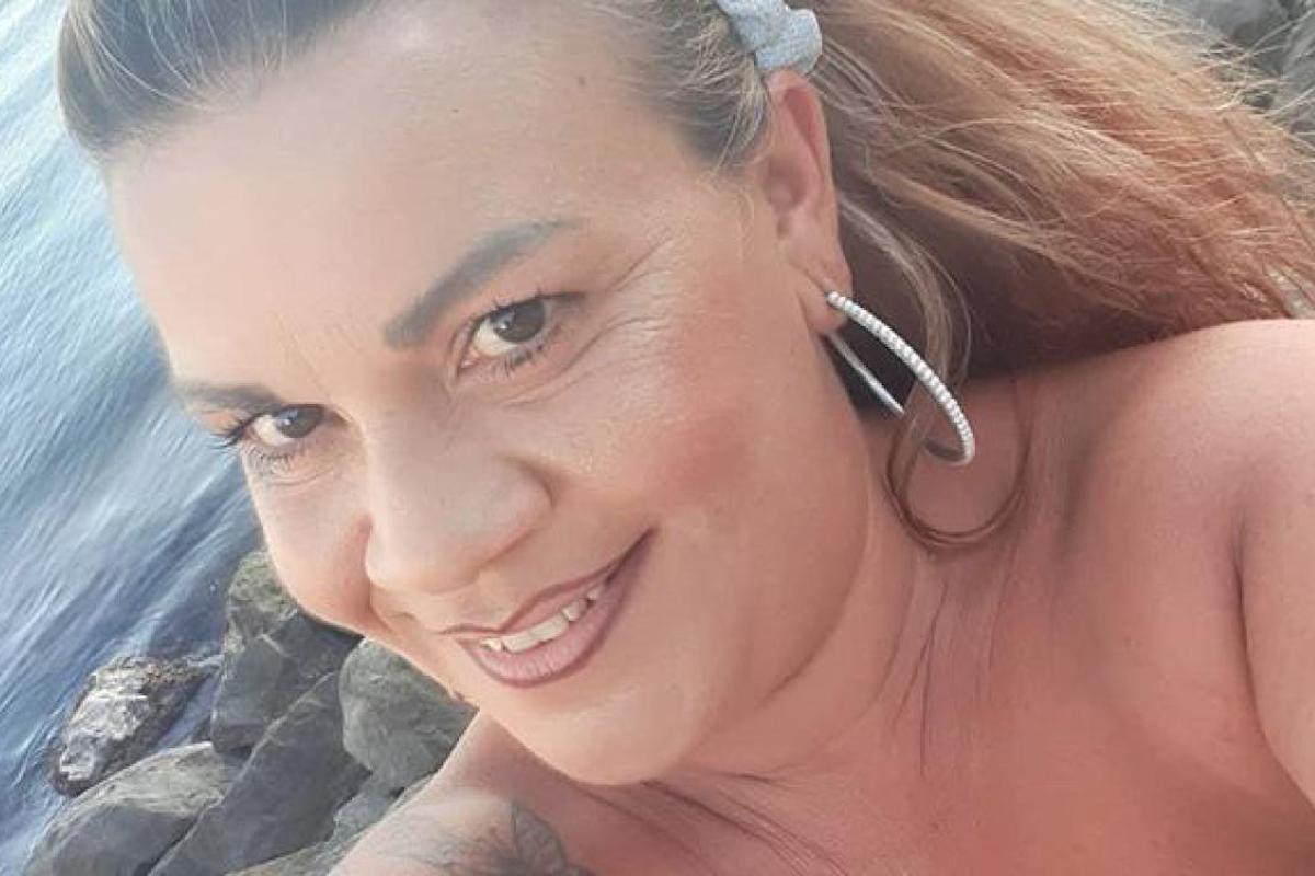 Angela di Mondello selfie