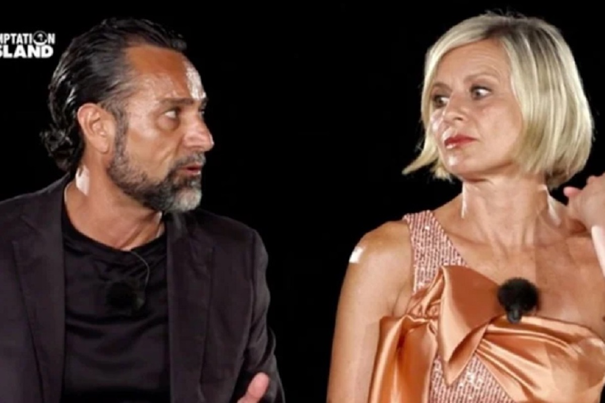Pietro Delle Piane e Antonella Elia a Temptation Island