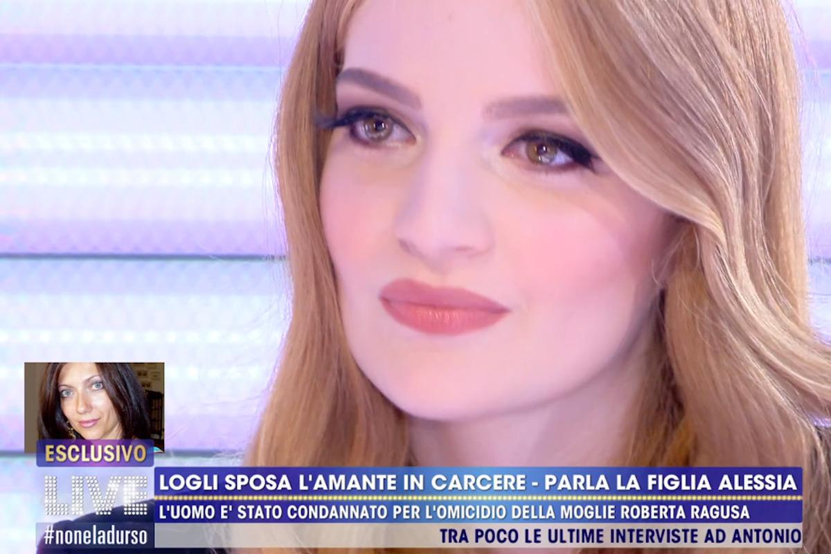 La figlia di Antonio Loglio e Roberta Ragusa ospite da Barbara d'Urso