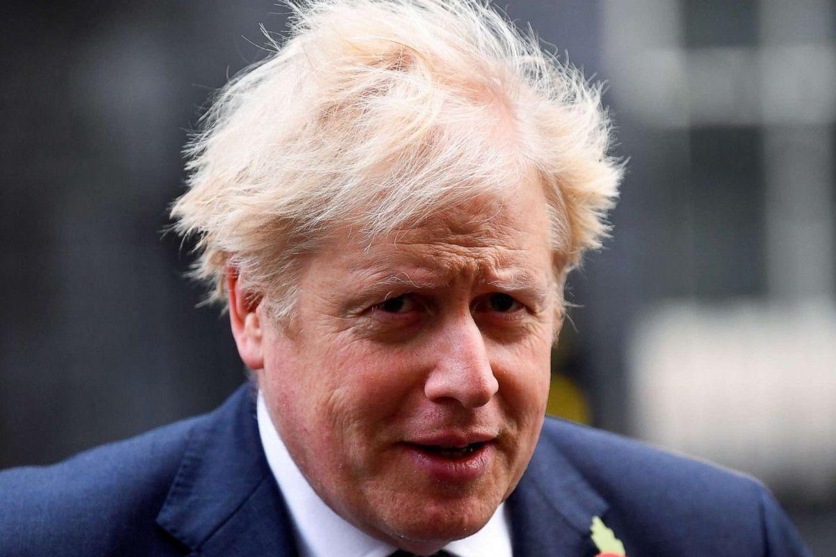 Primo piano Boris Johnson