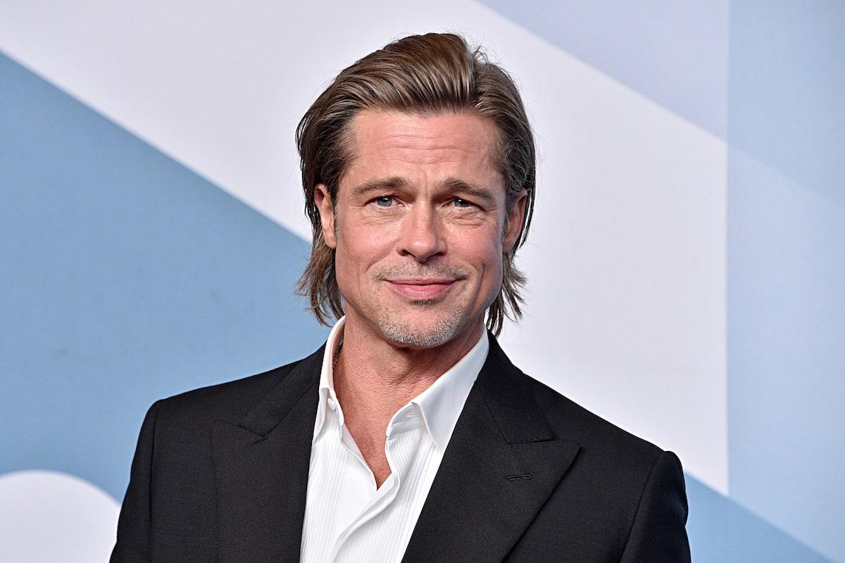Brad Pitt in posa