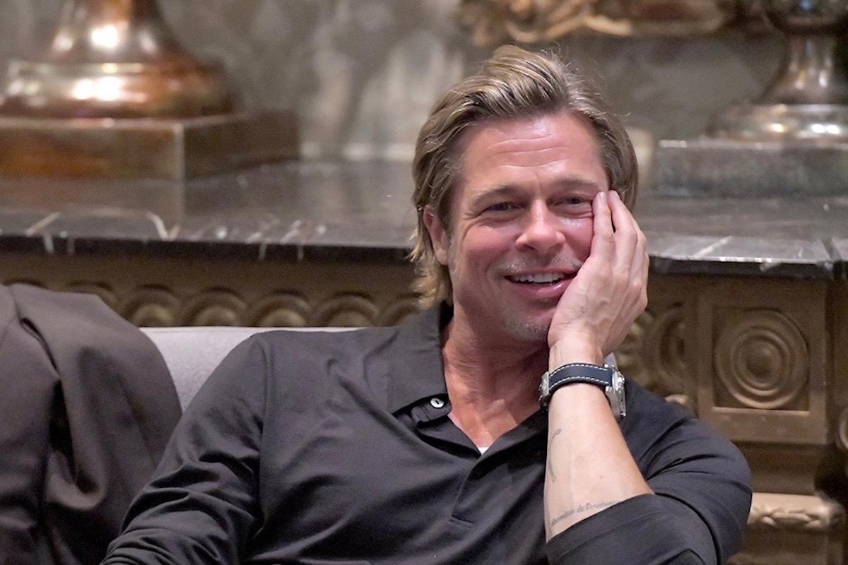 Brad Pitt ad un ritrovo