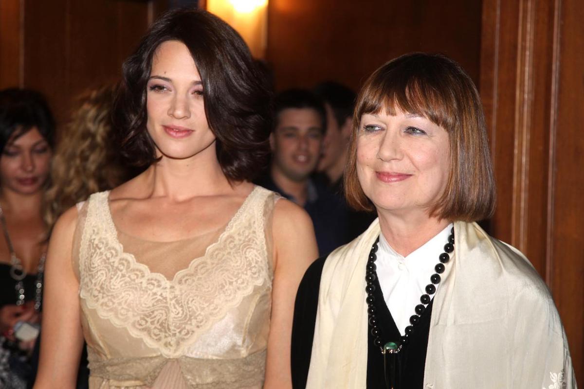 Daria Nicolodi con la figlia Asia Argento