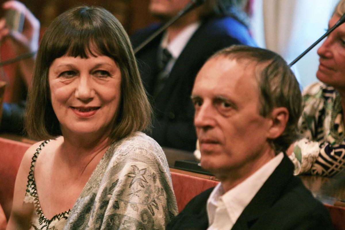 Dario Argento e l'ex moglie Daria Nicolodi