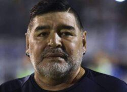 Diego Maradona primo piano