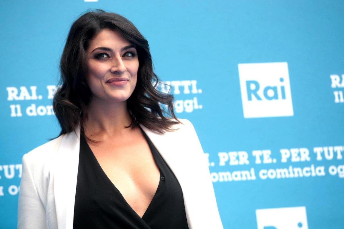 Elisa Isoardi a un evento Rai
