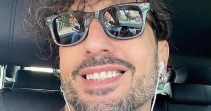 Selfie in auto di Fabrizio Corona