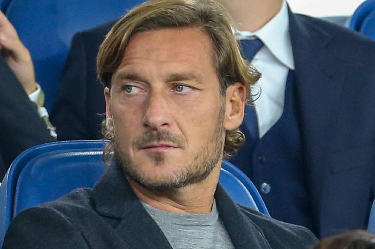 Francesco Totti allo stadio